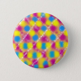 Psychedelic Grill 6 Cm Round Badge