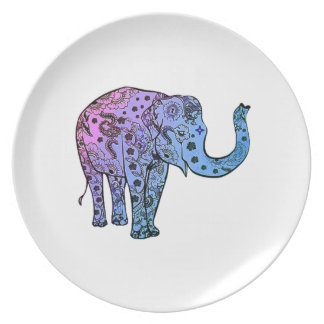 Psychedelic Groove Dinner Plate