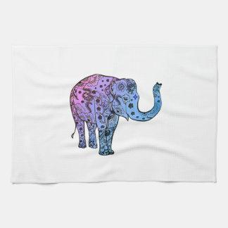 Psychedelic Groove Tea Towel