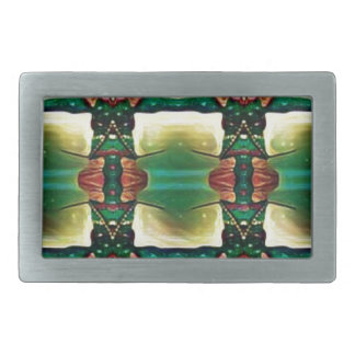 Psychedelic Guard Belt Buckle