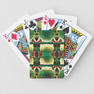 Psychedelic Guard Bicycle Playing Cards