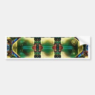 Psychedelic Guard Bumper Sticker