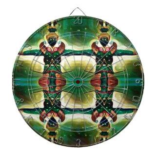 Psychedelic Guard Dartboard