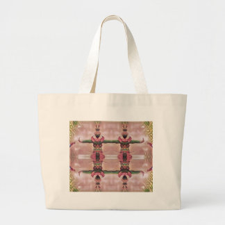 Psychedelic Guard Large Tote Bag
