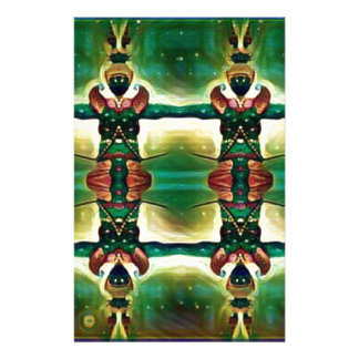 Psychedelic Guard Personalised Stationery