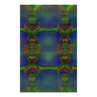 Psychedelic Guard Personalized Stationery