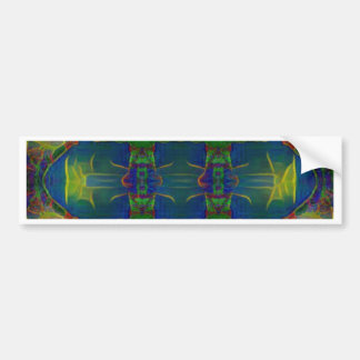 Psychedelic Guards Bumper Sticker