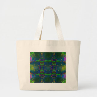 Psychedelic Guards Large Tote Bag