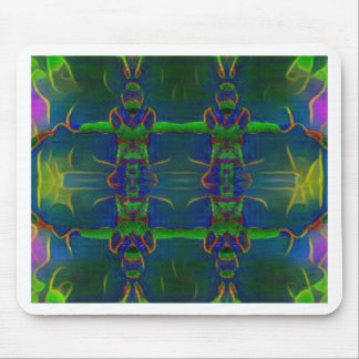 Psychedelic Guards Mouse Pad