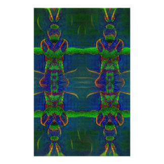 Psychedelic Guards Stationery Paper