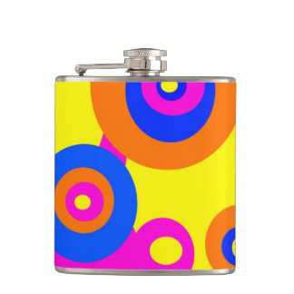 Psychedelic Hip Flask