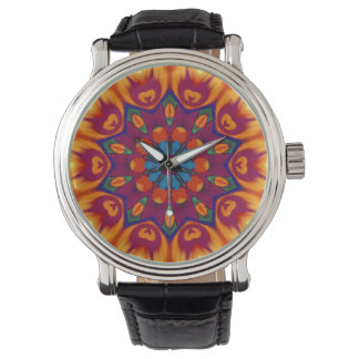 Psychedelic Hippy Watch