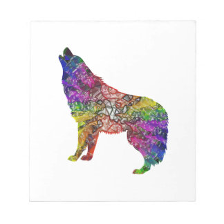 Psychedelic Howl Notepad