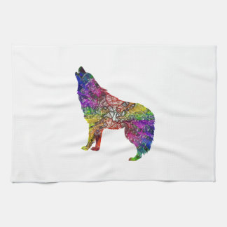 Psychedelic Howl Tea Towel