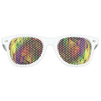 Psychedelic Ice Retro Sunglasses