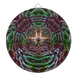 Psychedelic Into the Plant Dartboard