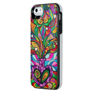 Psychedelic iPhone 5/5s Power Gallery Battery Case