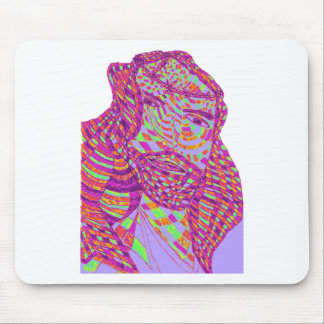 Psychedelic Jesus Christ Mouse Pad