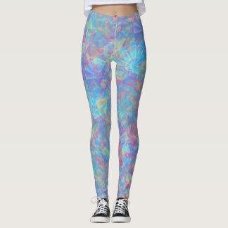 Psychedelic kaleidoscope leggings