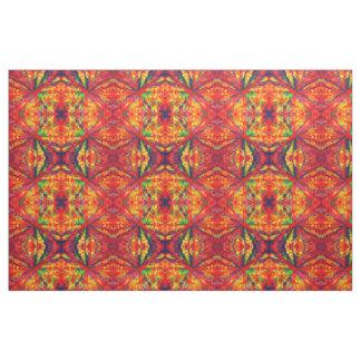Psychedelic Kaleidoscope Pattern Fabric