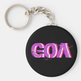 Psychedelic key-ring goa 2 key ring