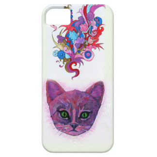 Psychedelic Kitten iPhone 5 Covers