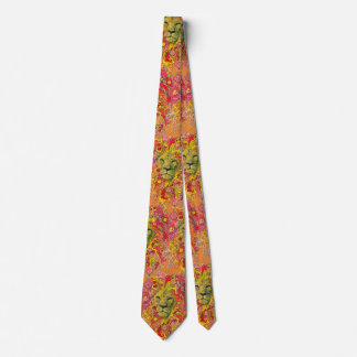 Psychedelic Lion Tie