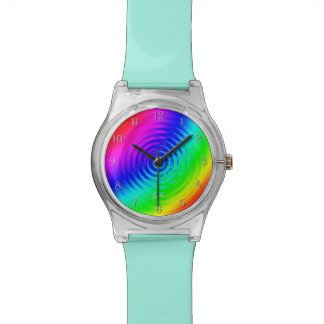 Psychedelic Liquid Rainbow I Watch