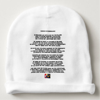 Psychedelic love - Word games - François City Baby Beanie