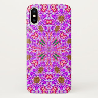 Psychedelic Magic Fairy Star Mandala Case