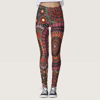 Psychedelic Mandala Design Leggings