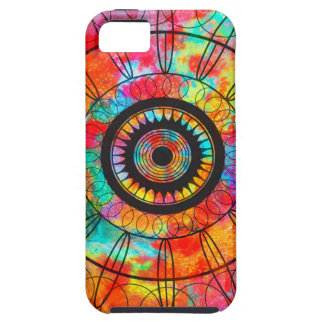 Psychedelic Mandala iPhone 5 Cover