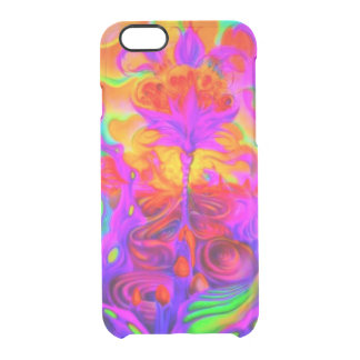 Psychedelic Maze Clear iPhone 6/6S Case