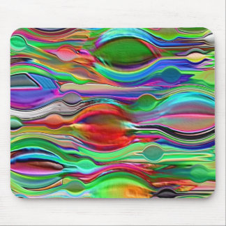 Psychedelic Mind Wave Mouse Pad