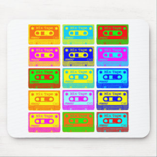 Psychedelic Mix Tape Mouse Pad