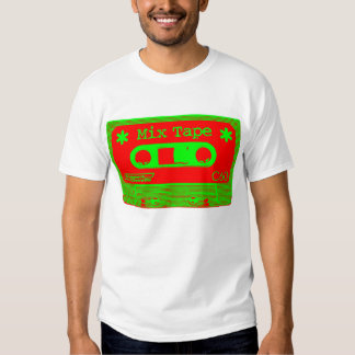 Psychedelic Mix Tape - Red and Green Shirt