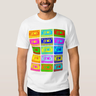 Psychedelic Mix Tape T Shirt
