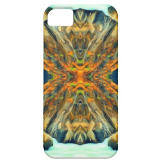 Psychedelic Mountain Range Painting Pattern Case For The iPhone 5