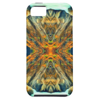 Psychedelic Mountain Range Painting Pattern iPhone 5 Covers