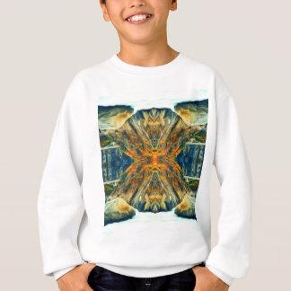 Psychedelic Mountain Range Painting Pattern Sweatshirt