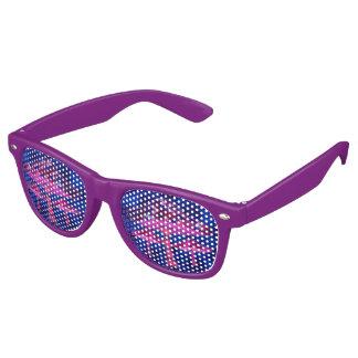 Psychedelic Mushrooms Retro Sunglasses