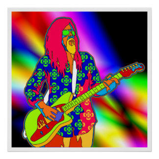 psychedelic music poster FROM 8.99