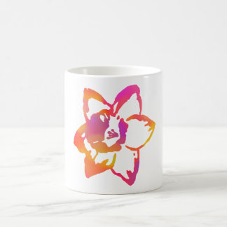 Psychedelic Narcissus Coffee Mug