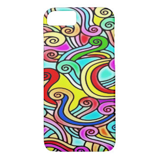 Psychedelic Noodles iPhone 7 Case