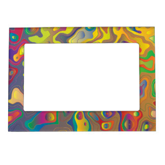 Psychedelic Oils Magnetic Picture Frame