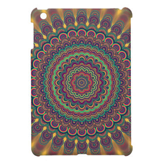 Psychedelic oval  mandala iPad mini covers