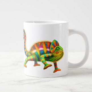 Psychedelic Panther Chameleon Jumbo Mug