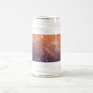 Psychedelic paper beer steins