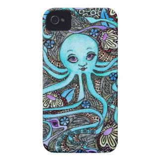 Psychedelic Party at Sea iPhone 4 Case-Mate Cases