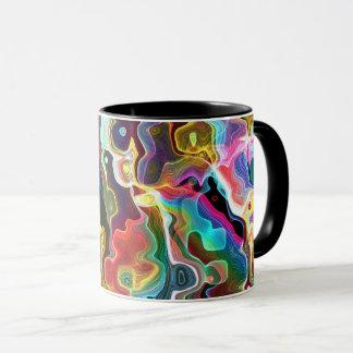 Psychedelic Pattern Mug